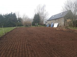 All tilled and ready for planting - just need to let it dry out for a day or two.